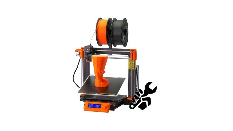 Prusa i3 MK3S for gears