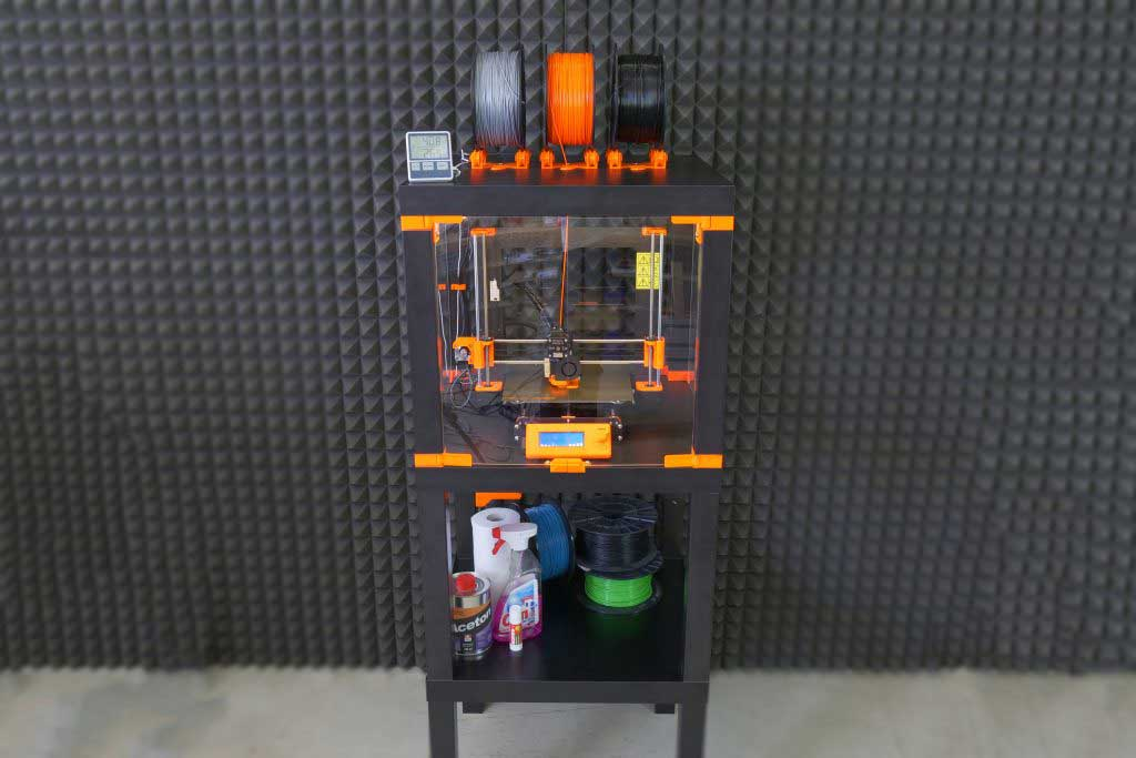 LACK Table Enclosure For ABS Printing.
